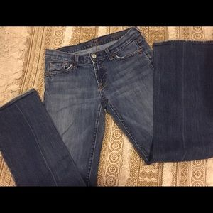 7 for all mankind Bootcut Jeans Sz 29